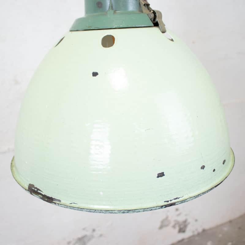Fabriekslamp Mintgroen