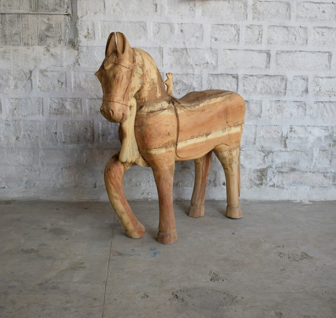 Houten Paard Xl