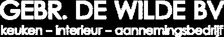 Gebr De Wilde Logo Wit E1614954338581