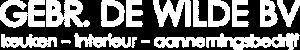 Gebr De Wilde Logo Wit Mobiel E1614954567787