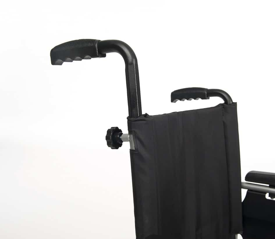 Vermeiren D100 Handbewogen Rolstoel Grijs Zwart