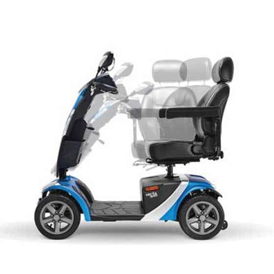 Vecta Sport Blauw Scootmobiel Nieuw