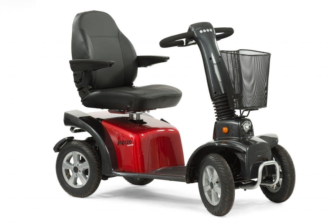 Life Amp Mobility Mezzo 4 Scootmobiel Nieuw
