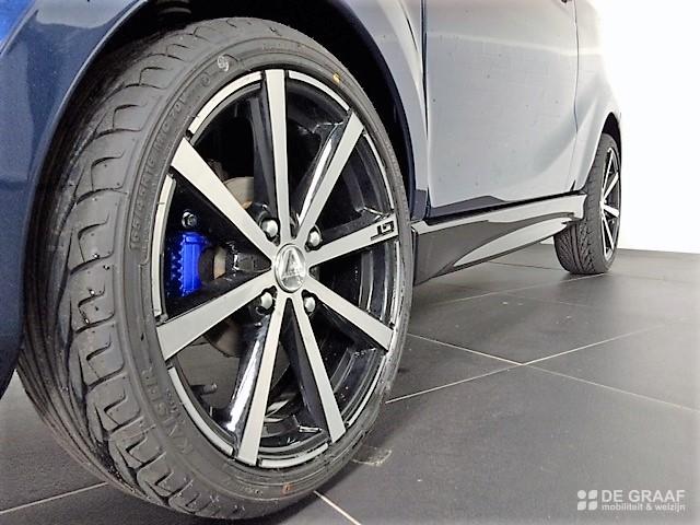 Aixam Coupe Gti Emotion 2021 Brommobiel Nieuw Marineblauw Metallic