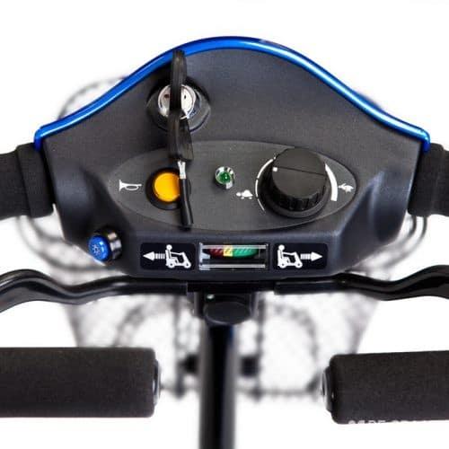 Kymco Mini Ls Comfort Scootmobiel Nieuw Blauw Zwart