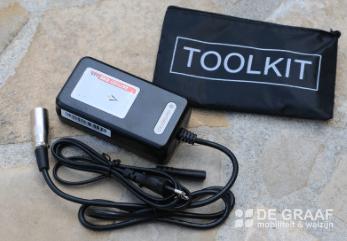Eloflex Acculader 3 Amp Rolstoel Accessoire