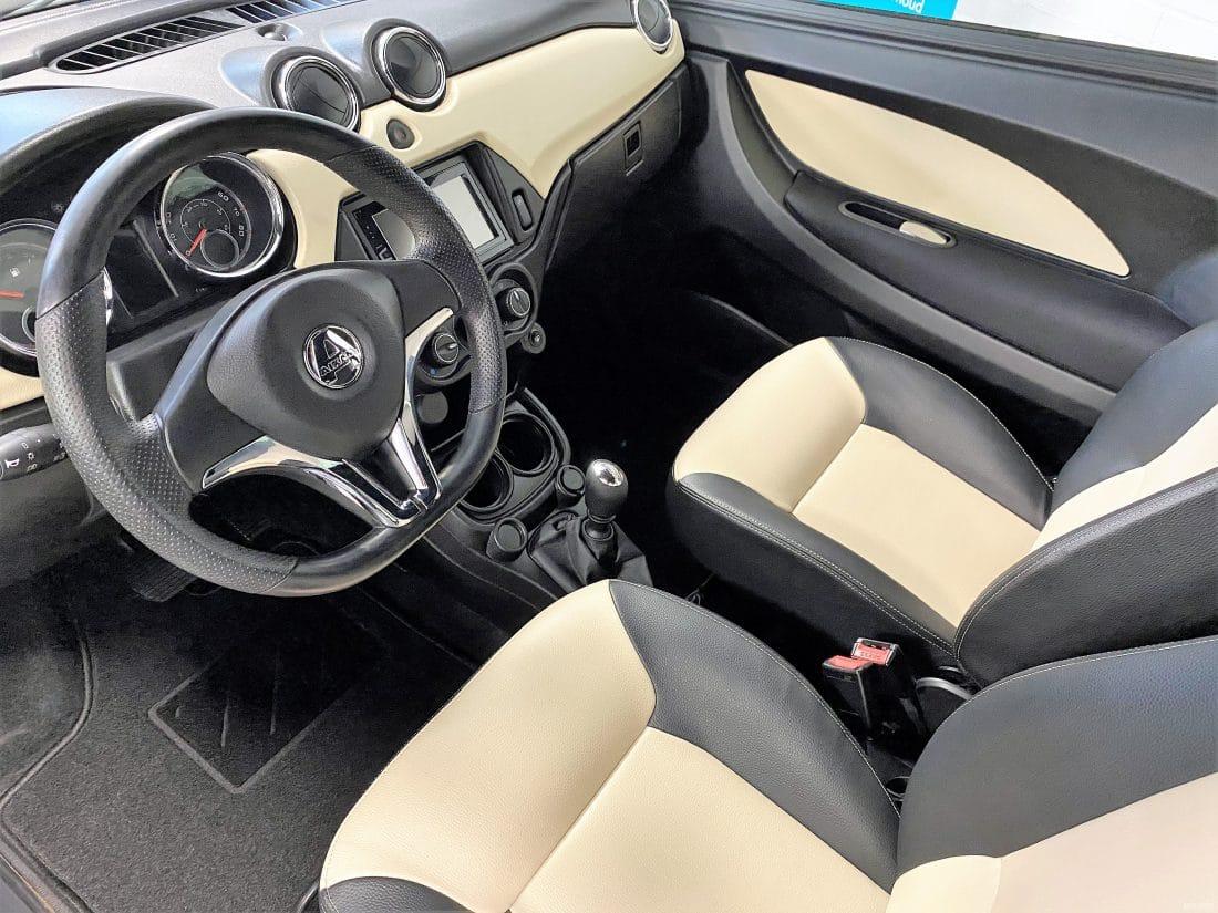 Aixam Coupe Premium Sensation 2017 Brommobiel Occasion Grijs Metallic