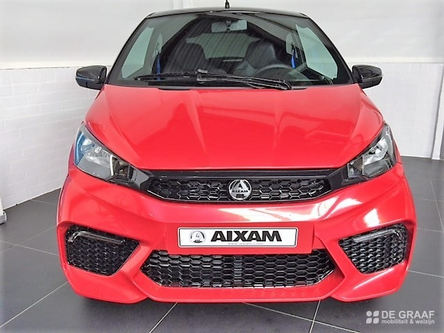 Aixam Coupe Gti Emotion Airco 2020 Brommobiel Occasion Rood Metallic
