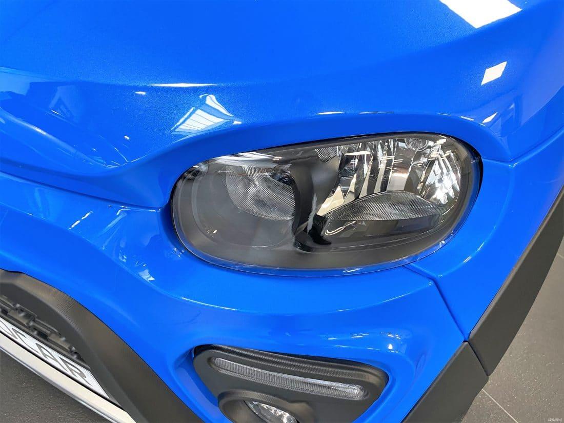 Microcar M Go X Sun Dci 2021 Brommobiel Nieuw Blauw Metalllic