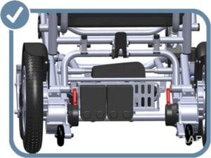 Eloflex D2 Elektrische Rolstoel