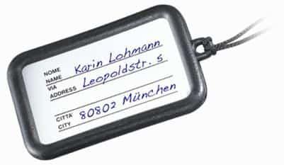 Topro Naamplaatje Rollator Accesoires