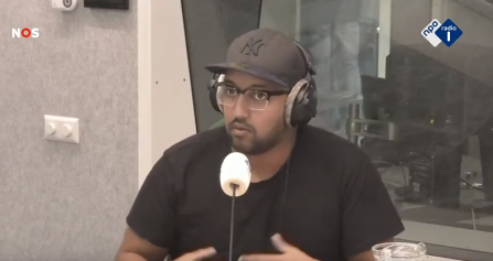 Mo Hersi Radio 1 Journaal 2020 02 20