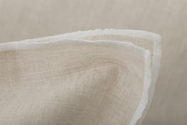 """Set Pillow Covers """"Natural Sand"""""""