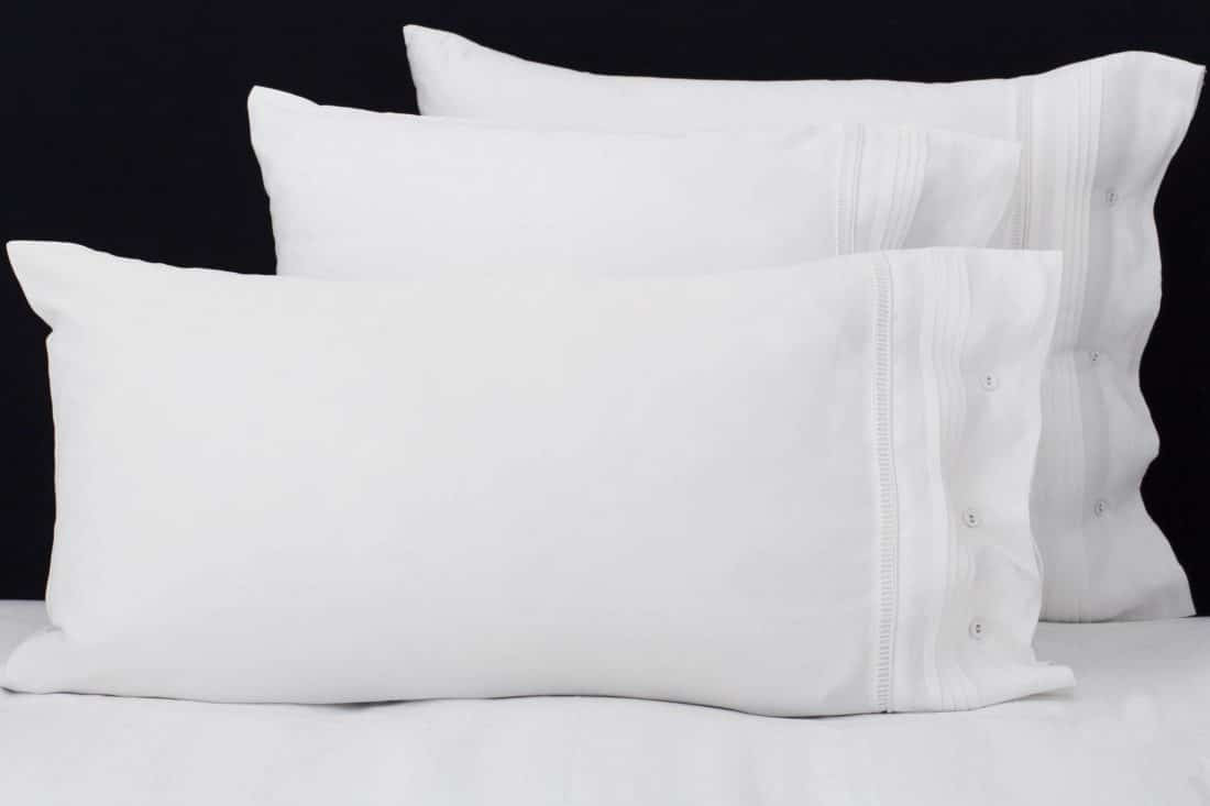 "Set Pillow Covers ""Chic White"""