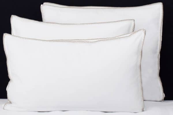 "Set Pillow Covers ""Feston Sand"""