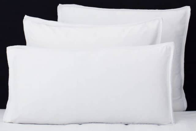 "Set Pillow Covers ""Feston White"""