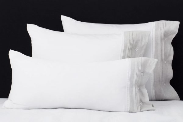 "Set Pillow Covers ""Chic Gray"""