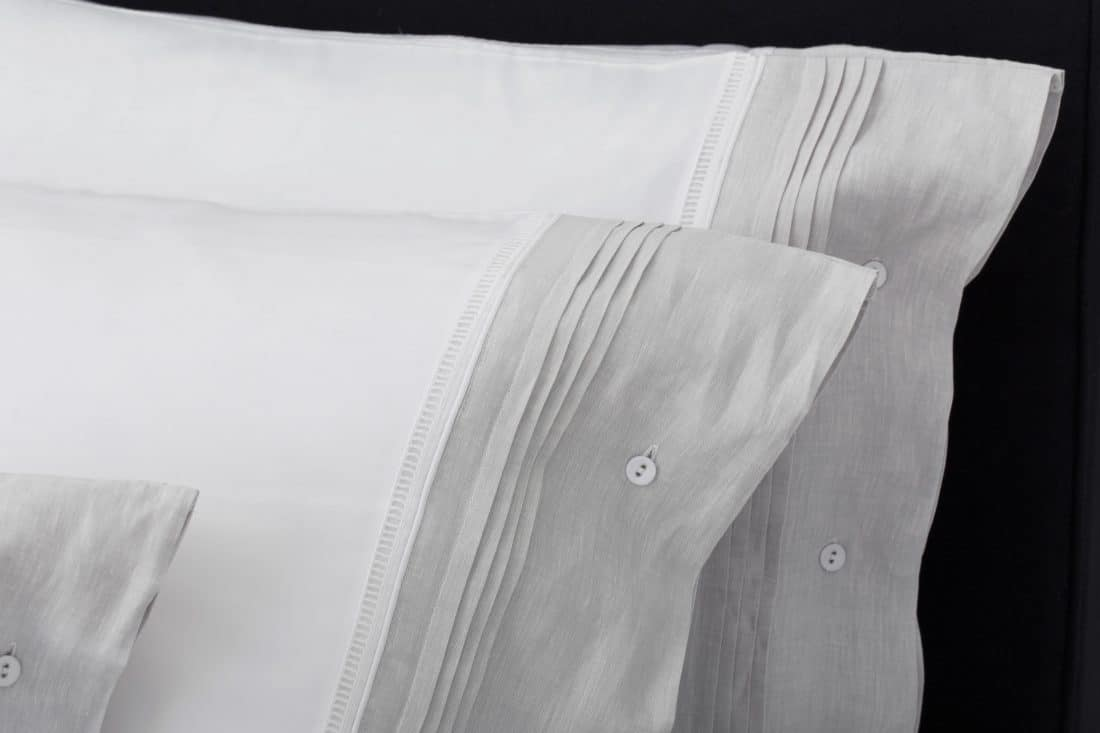 """Set Pillow Covers """"Chic Gray"""""""