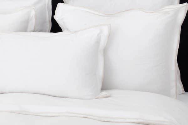 "Set Pillow Covers ""Triple Ivory"""