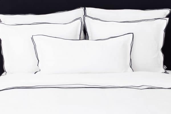 "Set Pillow Covers ""Triple Black"""