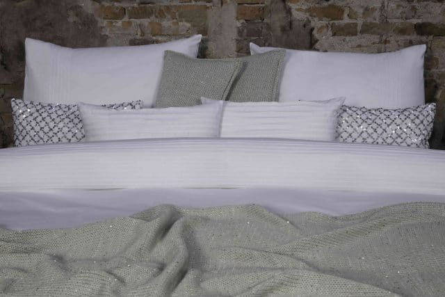 Duvet cover set Bruges White