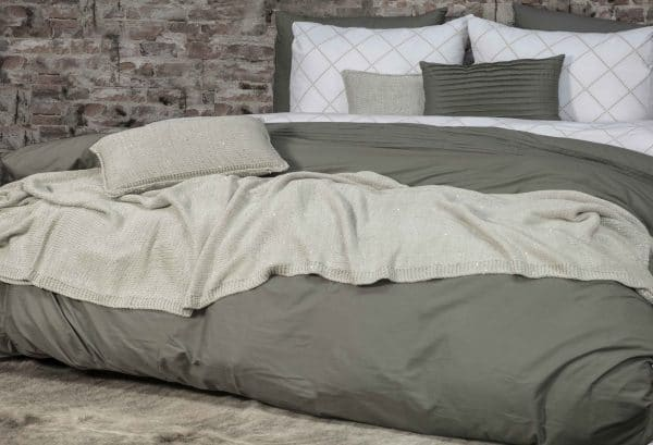 Duvet cover set Bruges Green