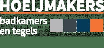 Hoeijmakers Badkamers Tegels Logo Mobile Toggle White