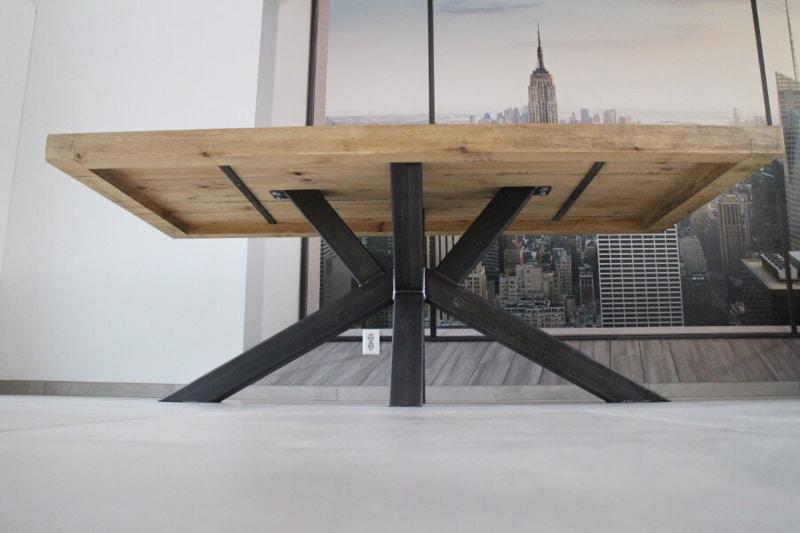 rechthoekige tafel matrix onderstel