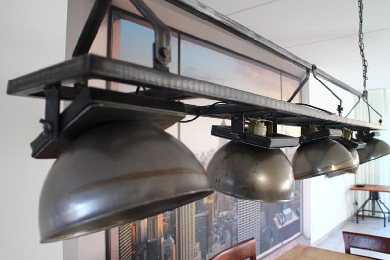 Industrial hanging lamp adjustable