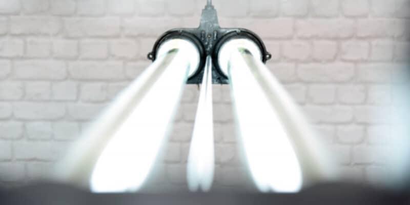 Industriële TL hanglamp
