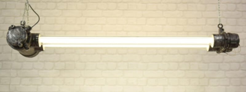 TL eettafellamp met led buizen