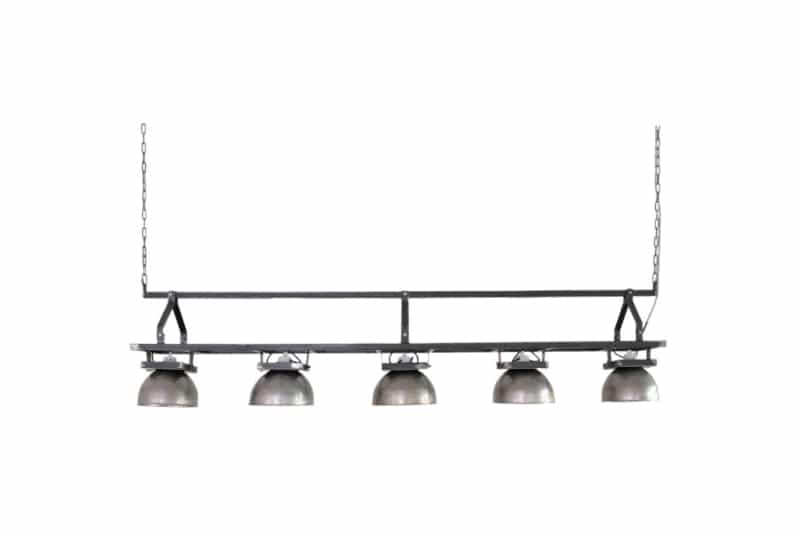 Industrial dining table hanging lamp