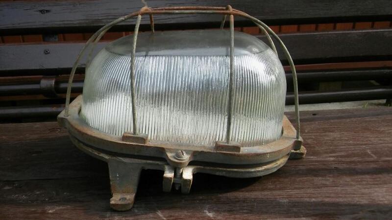 Industriële wandlamp Gdynia