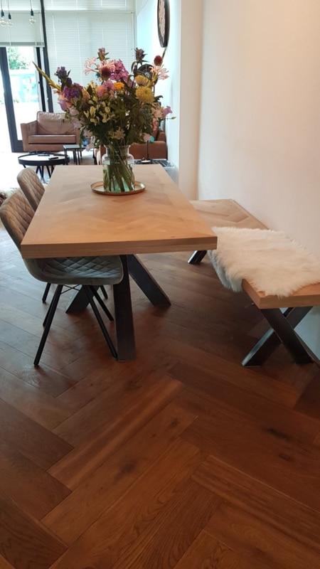 Rechteck Tisch Matrix Bein schwarz