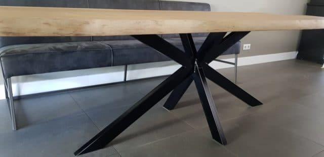 Ovale eiken tafel Obra Matrix
