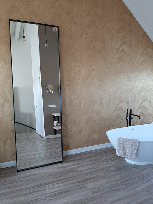Mirror Sierakowo thin edge design 5x1cm