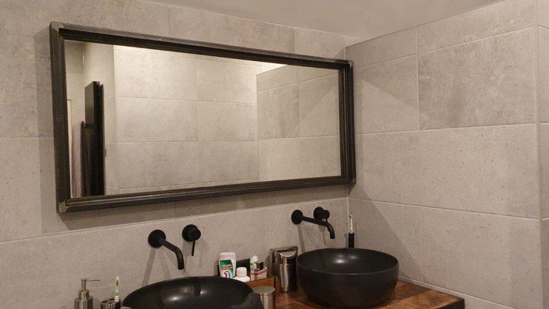 Badezimmerspiegel industriell Rawic