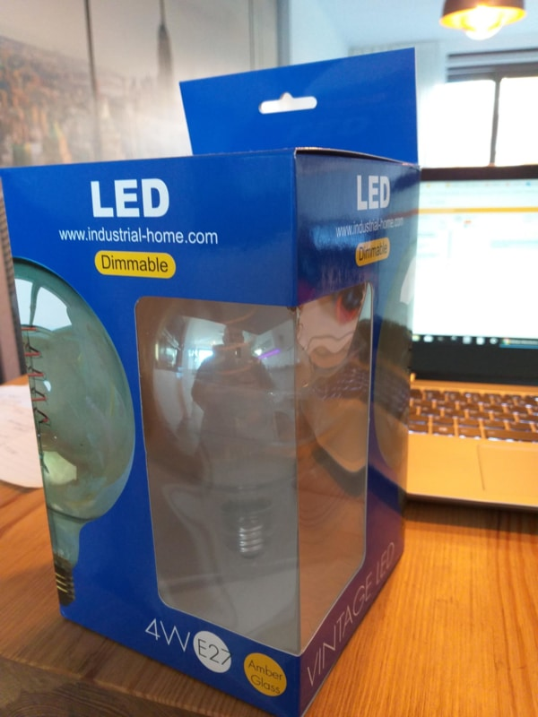 Large dimmable LED bulb