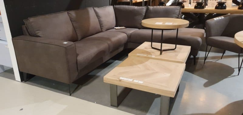 Coffee table Osla with U base