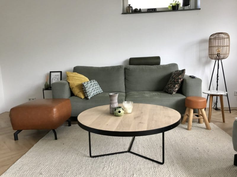 Coffee table Krobia single piece