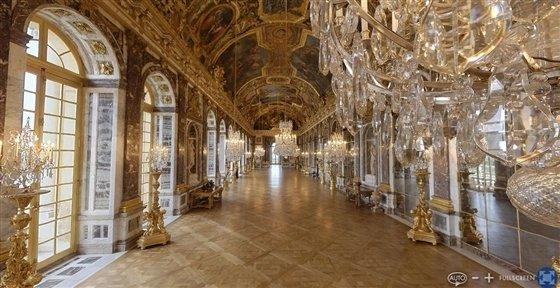Versailles Motief Vloer waar vele bal-gala's werden gevierd