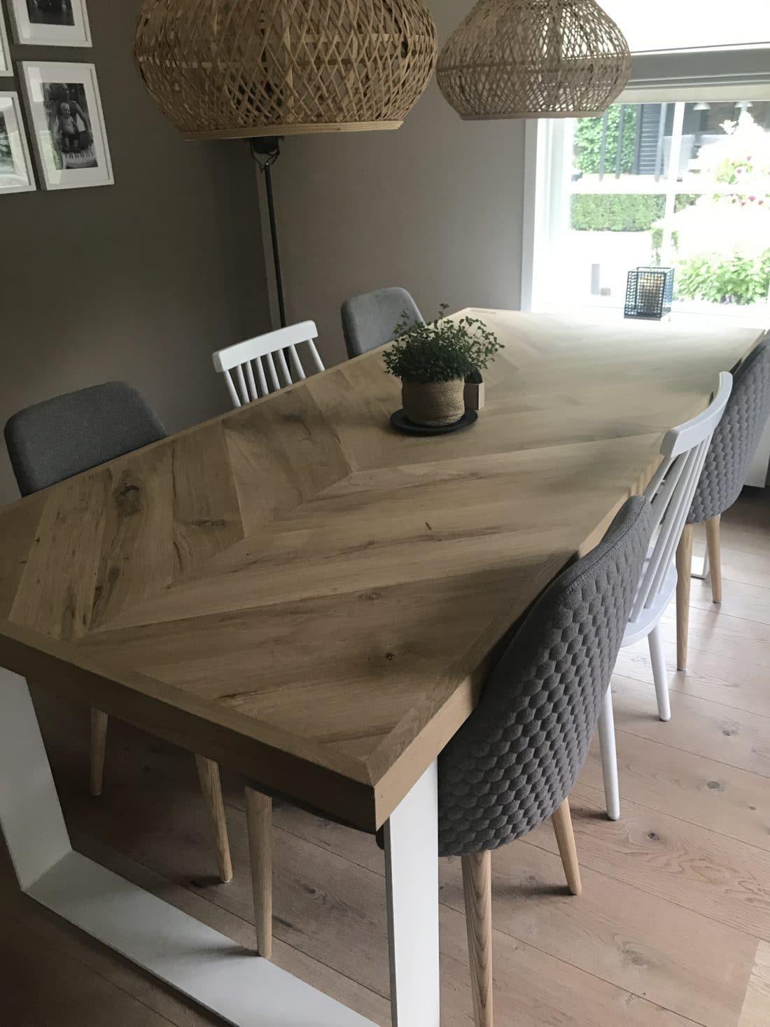 osla visgraat tafel