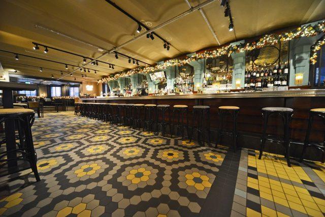 Architectenweb Intercodam Patroonvloer Ny Basement Hotel New York Beeld 1