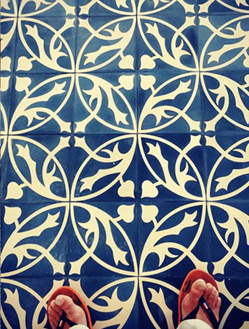 Castelo Portugese blauwe tegel