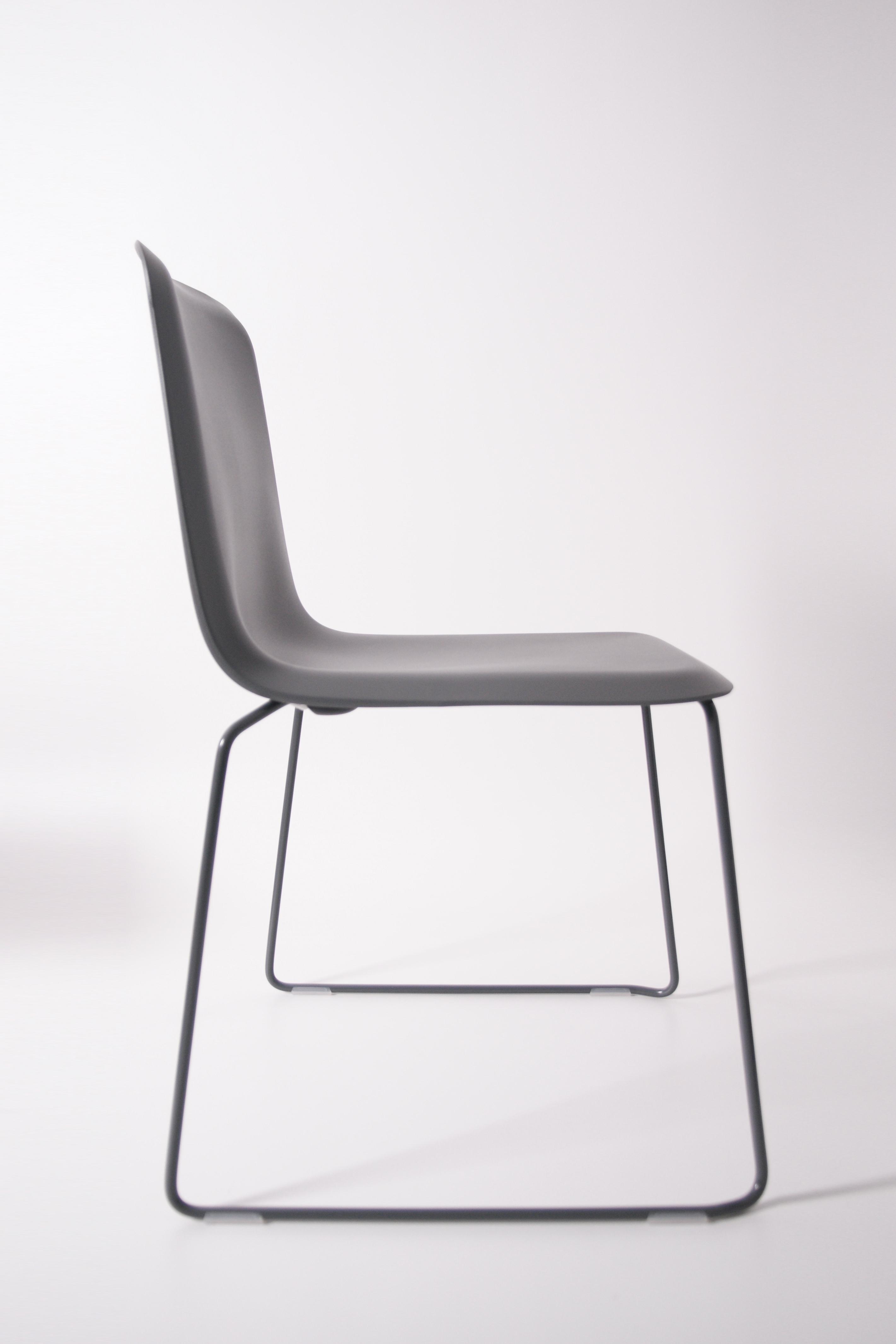 That Chair Grijs Zijkant