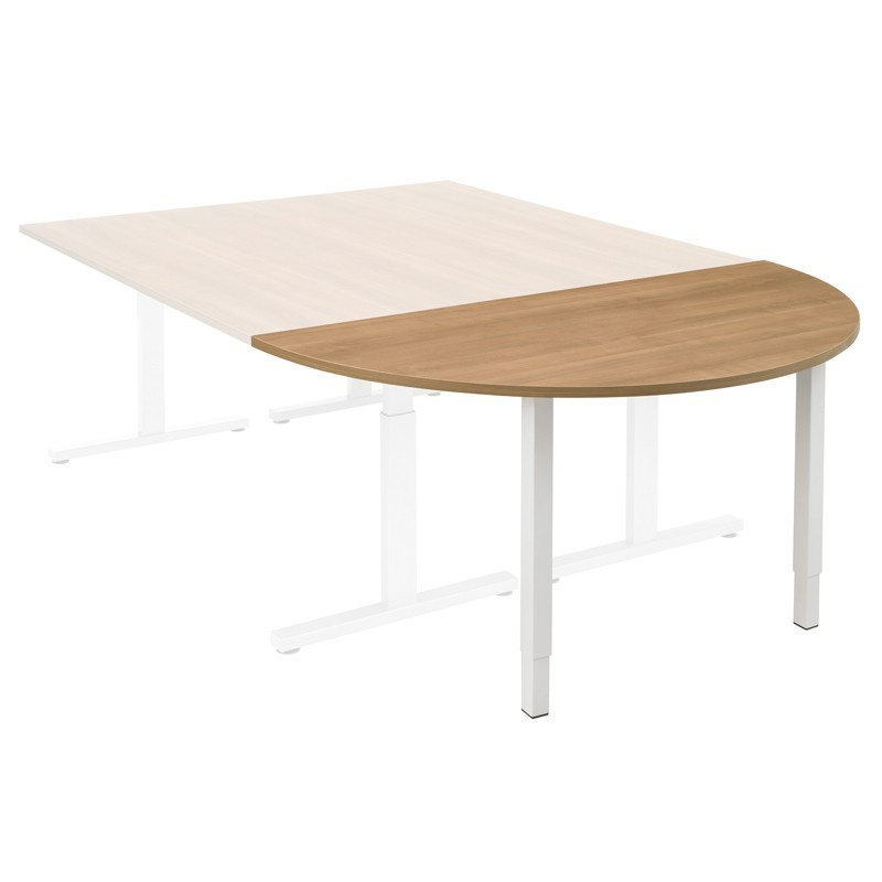 Halfrondetafel Pinta 160x80 cm