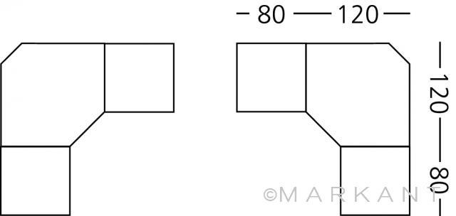 Argo MYOFFICE Megaspace 200x200 cm
