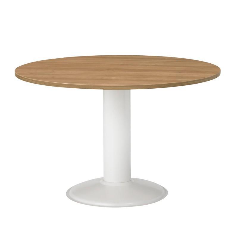 Ronde tafel met kolompoot