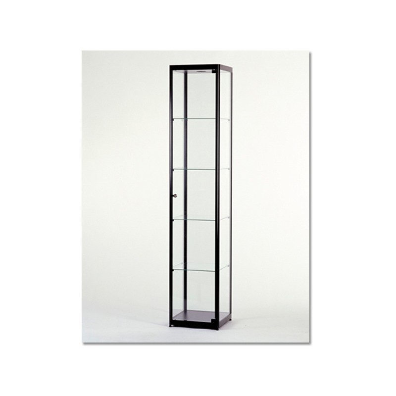 Vitrinekast 200x40x40 cm Zwart