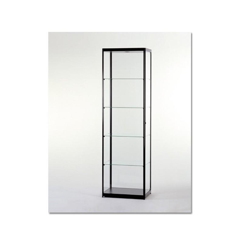 Vitrinekast 200x60x40 cm Zwart